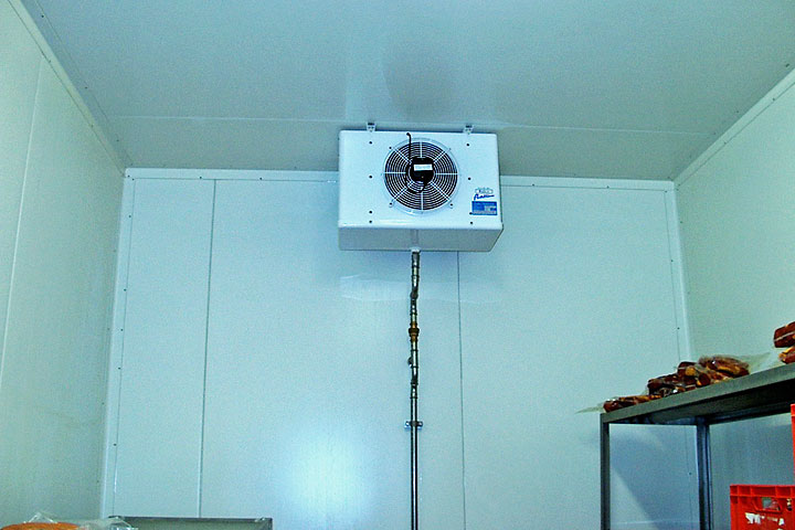 Prächtig Kühlraum oder Kühlzelle von Nesseler + Esser für Köln Bonn #AL_94