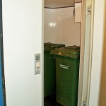 Kühlzelle Abfalllagerung