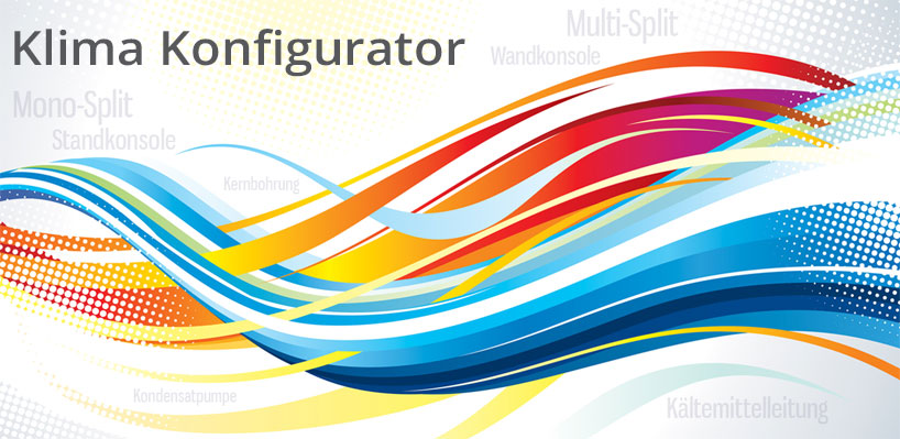 Online Klimaanlagen Konfigurator