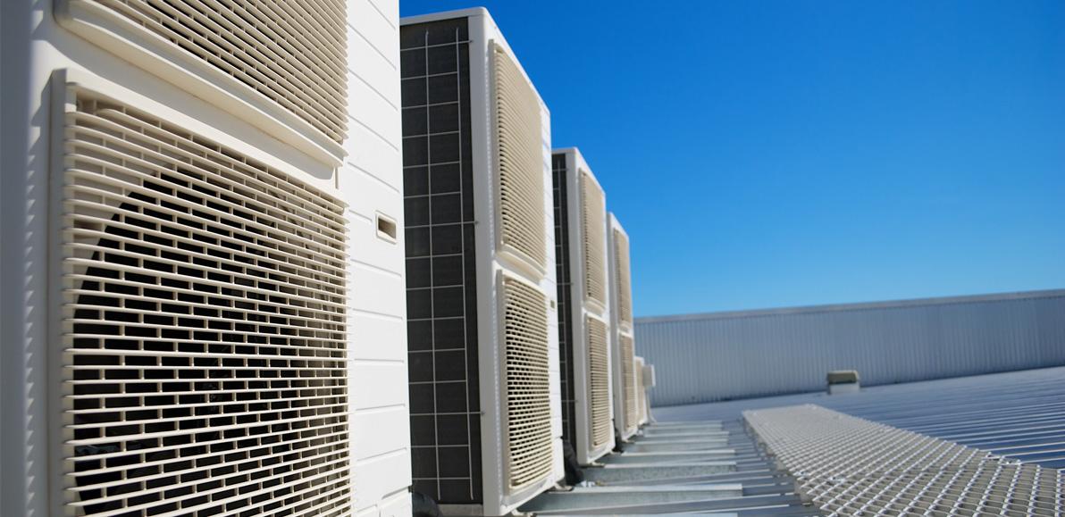 Außengeräte Klimaanlage für Industrie und Gewerbe