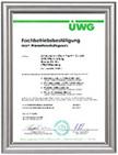 Fachbetrieb nach Wasserhaushaltsgesetz WHG