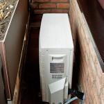 Außengerät Klimaanlage Balkon