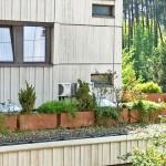 Außengerät Klimaanlage Vordach