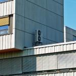 Klimaanlagen Außengeräte Gebäude