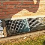 Außengerät Klimaanlage Bodengitter