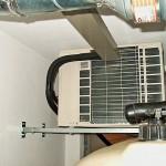 Klimaanlage Außengerät nach Montage