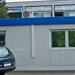 Klimaanlage Außengerät Gebäude