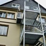 Außengerät Mehrfamilienhaus Klimasplitanlage