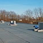 Klimaanlage Außengeräte Dach