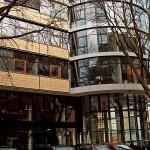 Außengerät Klimaanlage Bürogebäude