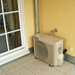 Klimaanlage Terasse Außengerät