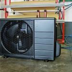Außengerät vor Installation Schwarz