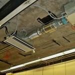 Montage Klimaanlage Kassetteneinbaugerät