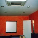 Konferenzraum Klimaanlage Kassetteneinbaugerät