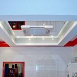 Kassetteneinbaugerät mit LED Lichtern als Klimaanlage