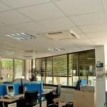 Kassetteneinbaugeräte Büroräume