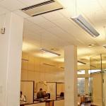 Kassetteneinbaugeräte für Büroräume