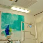 Kassetteneinbaugerät Zahnarztpraxis