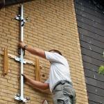 Montage Wandhalterung Klimaanlage Außeneinheit