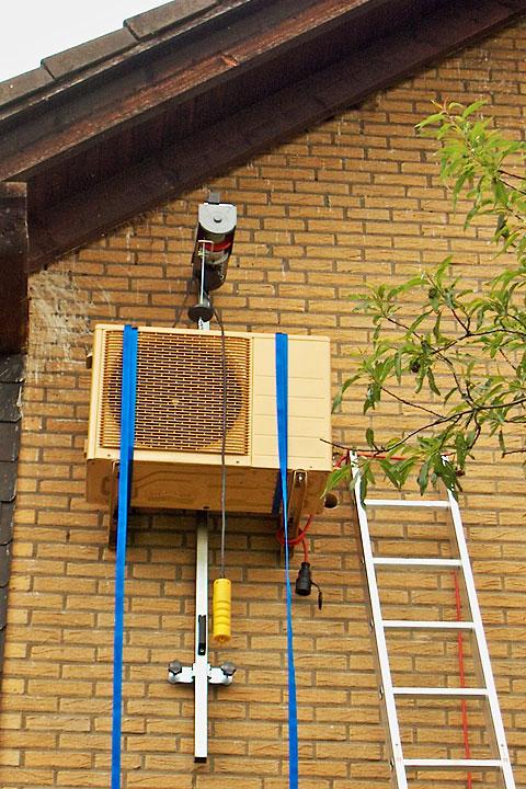 Split Klimaanlage Montage Beispiel Nesseler Esser Gmbh Co Kg