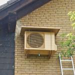 Installation Klimaanlage Split Außeneinheit