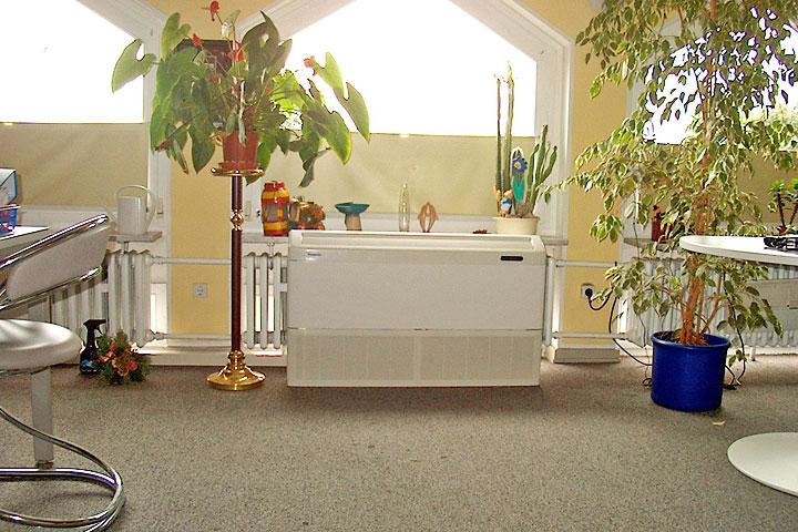Split Klimaanlage - Standtruhen