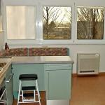 Wohnbereich Standtruhe Klimagerät Küche