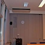 Klimaanlage Präsentationsraum
