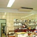 Unterdeckengerät Split Klimaanlage Labor