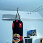 Wandgerät Klimaanlage Hobbyraum