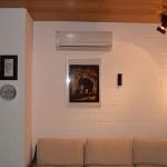 Split Klimaanlagen Wandgerät im Wohnzimmer