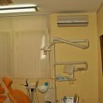 Wandgerät Zahnarztpraxis Split Klimagerät