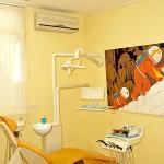 Wandgerät Zahnarztpraxis Klimasplitgerät