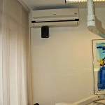 Klimaanlage Wandgerät Zahnarztpraxis