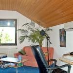 Wandgerät Klimaanlage im Arbeitszimmer