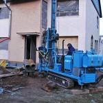 Wärmepumpen Installtion Neubau