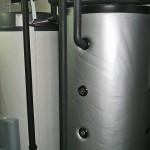 Wärmepumpe Keller Silber