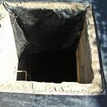 Bauarbeiten Wärmepumpe Erdloch