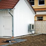 Installation Wärmepumpe Außeneinheit