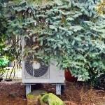 Außeneinheit Wärmepumpe