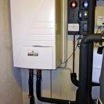 Altherma Wärmepumpe installiert