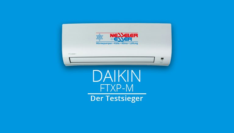Wir haben den Testsieger! Daikin FTXP-M Klimaanlage Comfora