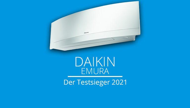 Daikin Emura Klimaanlagen Testsieger